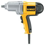 DeWalt Heavy Duty Impact Wrench Kits, 1/2 in  Drive, Detent Pin, 345 ft lb, 1/KIT, #DW292K