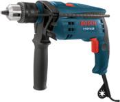 Bosch Tool Corporation Hammer Drills, 3,000 rpm, 48,000 blows/min, 1/EA, #1191VSRK