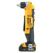 DeWalt 20V MAX LI-ION COMPACT RIGHT ANGLE DRILL KIT (1, 1/EA, #DCD740C1