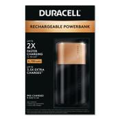 Duracell PB2POWERBANK 2 DAY 6700MAH Mobile Battery Charger, 4/CA, #DURDMLIONPB2