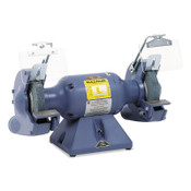 Baldor Electric Industrial Grinders, 7 in, 1/2 hp, Single Phase, 3,600 rpm, Steel Tool Rests, 1/EA, #712E