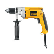 DeWalt 1/2 in Heavy-Duty VSR, Keyless Chuck, 600 rpm, 1/EA, #DW246