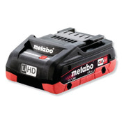 Metabo 18.0V Li-Ion Battery, 4.0Ah Capacity, 1/EA, #625367000