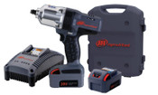 Ingersoll Rand IQV20 Cordless Impactools, 1/2 in, 20 V, 1,900 rpm, 2 Battery Kit, 1/EA, #W7150K2