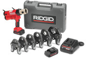Ridge Tool Company RP340-C STANDARD CORDEDPRESSING TOOL KIT, 1/EA, #43373