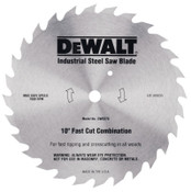 DeWalt Steel Circular Saw Blades, 7 1/4 in, 20 Teeth, 5/EA, #DW3323