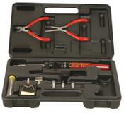 Master Appliance Soldering Iron Kit, Hot Knife/(3)Ultratip/Hot Air Tips;Pliers;Solder;Wire Cutter, 1/EA, #UT100SiTC