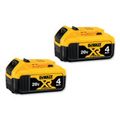DeWalt Battery Packs, 20 V, 1/EA, #DCB2042