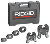 Ridge Tool Company ProPress Rings, V1/C1 Combo Kit, 1/2 in - 1 1/4 in, 1/EA, #28048