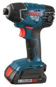 Bosch Tool Corporation 18.0 VT LITHEON IMPACT DRIVER W 2 SLIM PACK BATT, 1/EA, #2561802