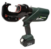 Greenlee Gator Battery-Powered Crimping Tool, 120 V, Lithium Ion Battery, 6 ton, 1/EA, #EK425LXDO11