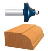 "Bosch Tool Corporation 1"" BEADING ROUTER BIT2-FLUTE  CA, 1/EA, #85494M"