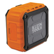 KLEIN TOOLS Wireless Jobsite Speakers, Bluetooth, Battery, Aux, 1/EA, #AEPJS1