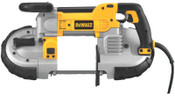 DeWalt Heavy-Duty Deep Cut Variable Speed Band Saw, Adjustable Front handle, 350 ft/min, 1/EA, #DWM120