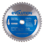 Evolution TCT Metal-Cutting Blades, 8 in, 5/8 in Arbor, 5,800 rpm, 50 Teeth, 1/EA, #8BLADEMS