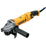 DeWalt High Performance Angle Grinders with E-Clutch, 11000 rpm,Trigger, Lock On, 5 in, 1/EA, #DWE43115