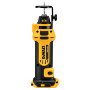 DeWalt 20V MAX Drywall Cut-Out Tools, 1/8 in; 1/4 in Collet, 1/EA, #DCS551B