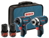 Bosch Tool Corporation 12 MAX TWO TOOL COMBO KIT (PS21 &PS41), 1/KT, #CLPK27120