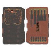 DeWalt FlexTorq Impact Ready™ 35-pc Screwdriving Bit Set, Steel, 1/EA, #DWA2T35IR