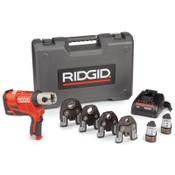 Ridge Tool Company RP 240 PP+LIO Kits, 12 V, Li-Ion Battery, 1/KT, #57398