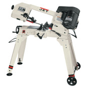 JPW Industries Horizontal/Vertical Bandsaw, Moving Handle, 200 ft/min, 1/2 hp Motor, 1/EA, #414458