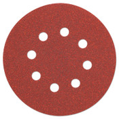 "DeWalt 5"" Random Orbit Sheets (8 Hole), 80 Grit, 25, 175/CT, #DW4309"