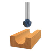 "Bosch Tool Corporation 3/8"" C.T. CORE BOX BIT2- FLUTES, 1/EA, #85445M"