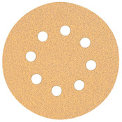 "DeWalt 5"" Random Orbit Sheets (8 Hole), 80 Grit, 5, 25/BX, #DW4301"