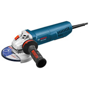 Bosch Tool Corporation Small Angle Grinders, 5 in D, 13A, 11500rpm, Paddle Switch w/ No-Lock-On Control, 1/EA, #GWS1350PD