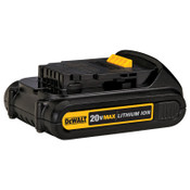 DeWalt Battery Packs, 1.5 A-h, 20 V, 1/EA, #DCB201