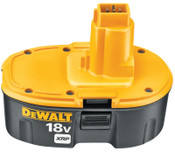 DeWalt XRP Rechargeable Battery Packs, 18 V, 1/EA, #DC9096