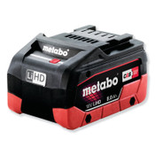 Metabo 18.0V Li-Ion Battery, 8.0Ah Capacity, 1/EA, #625369000