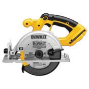 DeWalt Cordless Circular Saws, 18 V, 6 1/2 in Blade, 16 mm Arbor, 3,700 rpm, 1/EA, #DC390B