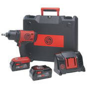Chicago Pneumatic Cordless Impact Wrench Kit, 1/2 in, 1/EA, #8941088481