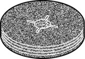 Bosch Tool Corporation Abrasive Sanding Discs, 4 1/2 in, 36 Grit, 25/PKG, #T4228
