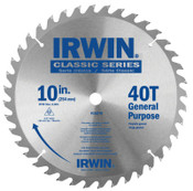 Stanley Products Carbide-Tipped Circular Saw Blades, 10 in, 40 Teeth, 5/EA, #15270
