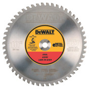 DeWalt Metal Circular Saw Blades, 10 in, 52 Teeth, 1/EA, #DWA7759