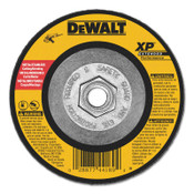 "DeWalt Extended Performance Type 27 Depressed Center Wheel, 4 1/2"", Z24R, 1/4 in Thick, 10/EA, #DW8809"
