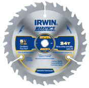 Stanley Products Cordless Circular Saw Blades, 5 1/2 in, 24 Teeth, 5/CTN, #14011