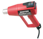Master Appliance Proheat LCD Programmable Heat Guns, 3 Pos-Off/On/Heat, 1,000 °F/540 °C, 11 A, 1/EA, #PH1500