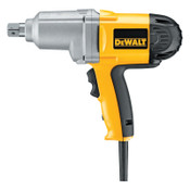 DeWalt Heavy Duty Corded Impact Wrenches, 3/4 in  Drive, Detent Pin, 345 ft lb, 1/EA, #DW294