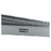 L.S. Starrett Powerband Matrix II HSS Bi-Metal Portable Bandsaw Blade, 18 TPI, 3/PK, #14602