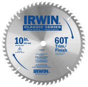 Stanley Products Carbide-Tipped Circular Saw Blades, 10 in, 60 Teeth, 5/EA, #15370