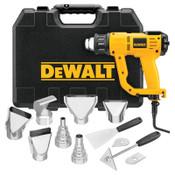 DeWalt Heat Gun Kits, Switch, 1,100 °F, 13 A, 1/EA, #D26960K