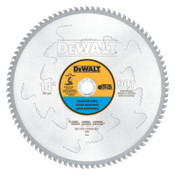 DeWalt Stainless Steel Cutting Saw Blades, 14 in, 90 Teeth, 1/EA, #DWA7749