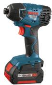 Bosch Tool Corporation 18.0 VT LITHEON IMPACT DRIVER W 2 FAT PACK BATT, 1/EA, #2561801