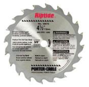 Porter Cable Circular Saw Blades, 4 1/2 in, 20 Teeth, 1/EA, #12870