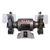 JPW Industries JBG-8W Bench Grinder w/Wire Wheel, 8 in Wheels, 1 hp, Single Phase, 3450 rpm, 1/EA, #577128
