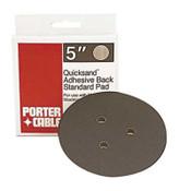 Porter Cable PSA Standard Profile Replacement Pads, 5 in, 1 per box, 1/EA, #13900