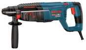 Bosch Tool Corporation Bulldog SDS-plus Rotary Hammers, 1 in Drive, D-Handle; Side Handle, 1/EA, #11255VSR
